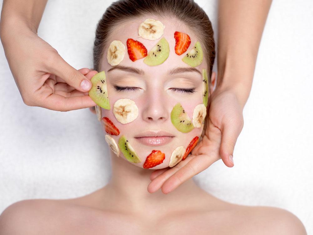 Pleťové masky z exotického ovoce