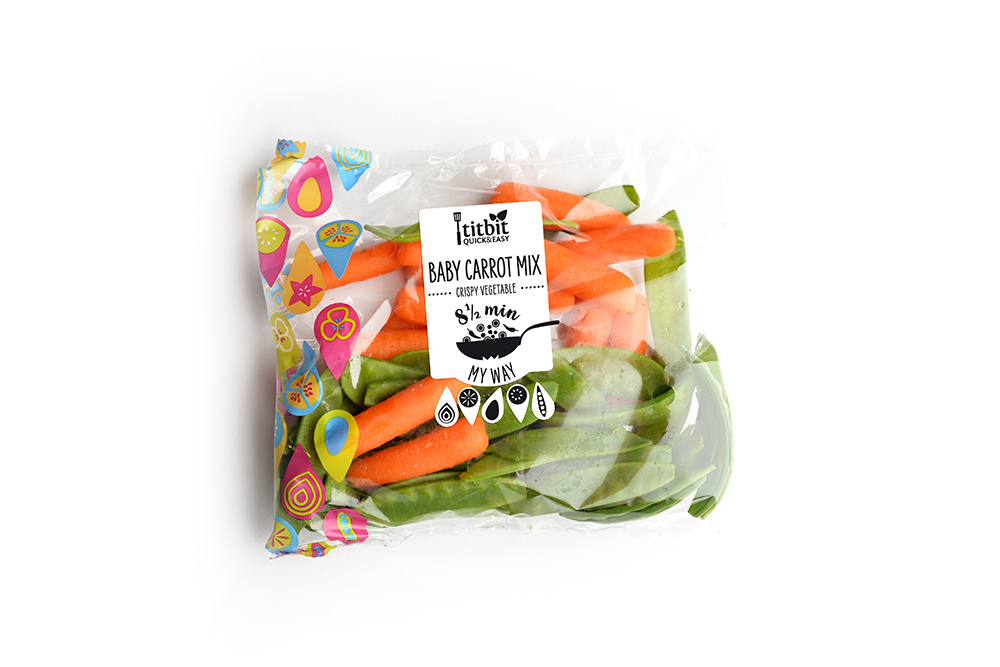 Baby carrot mix QUICK&EASY