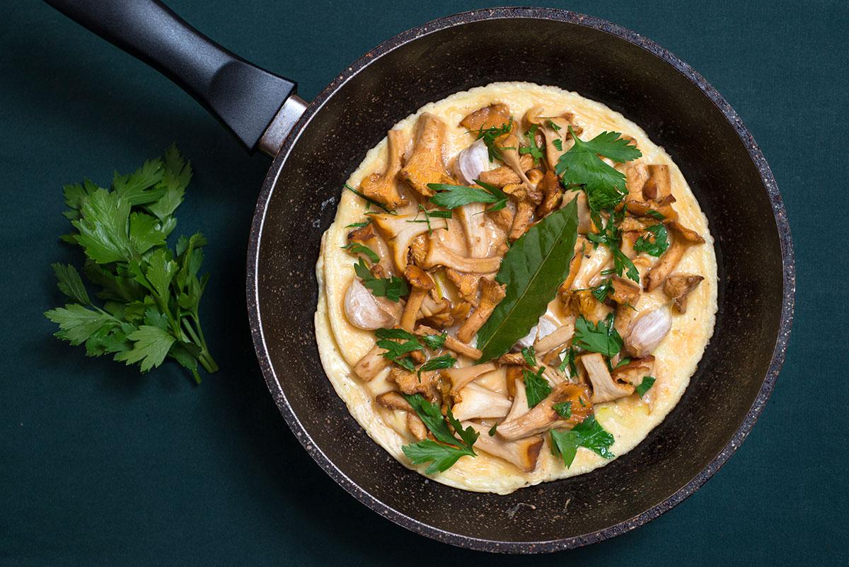 Marocká omeleta s liškami od Sofie Smith
