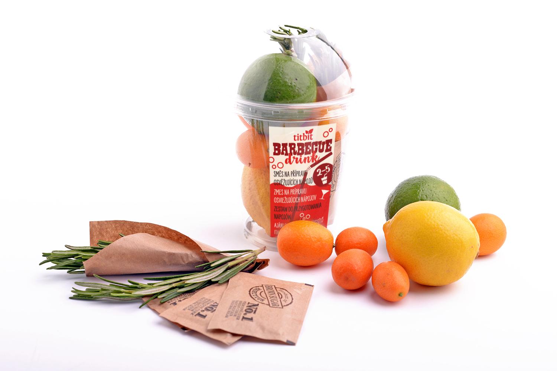 Titbit Barbecue Exotic citrus limonáda