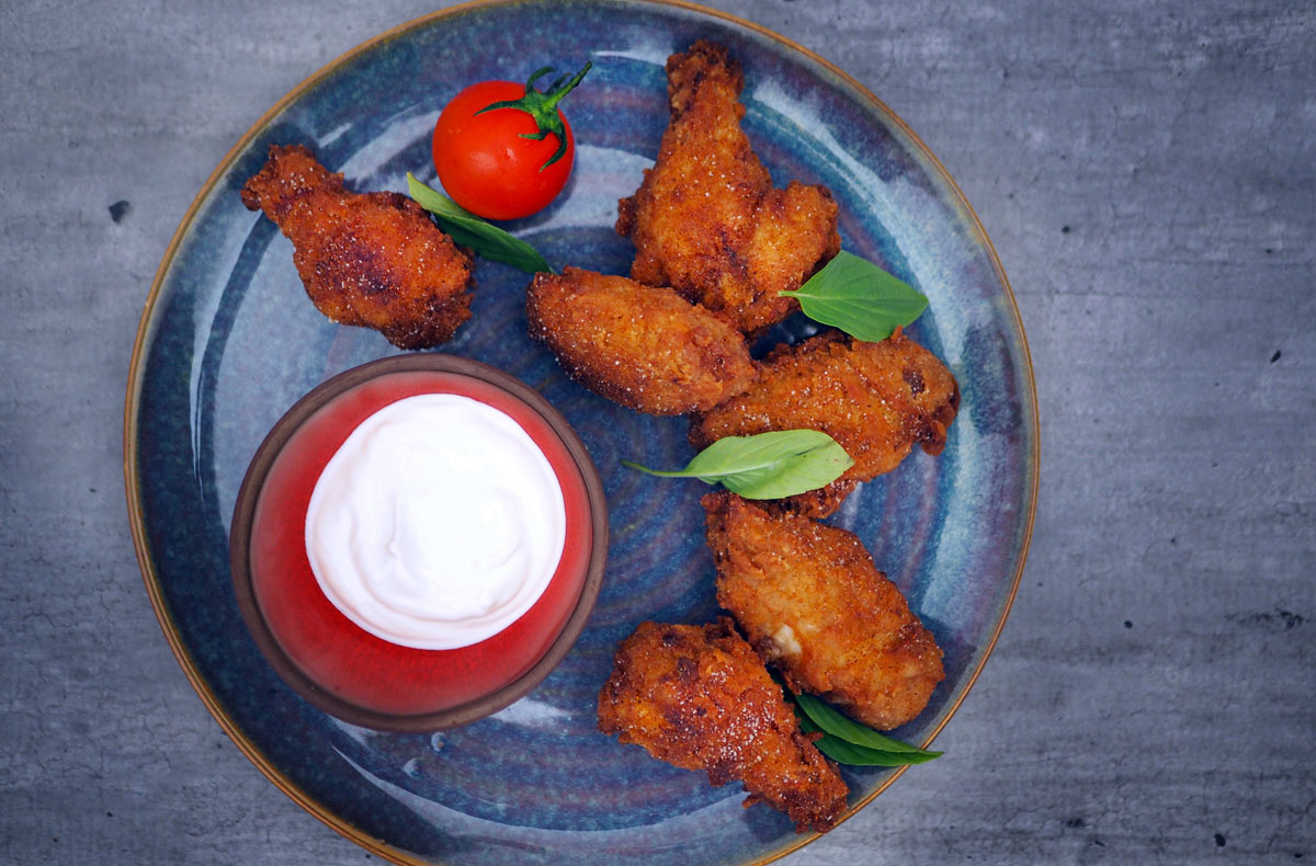 Titbit – Smažená chilli křídla
