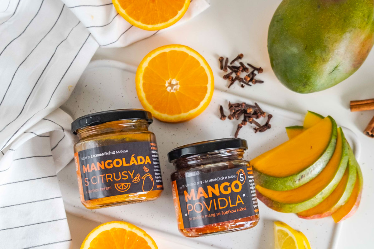 Titbit Frutissimo - Mangová marmeláda