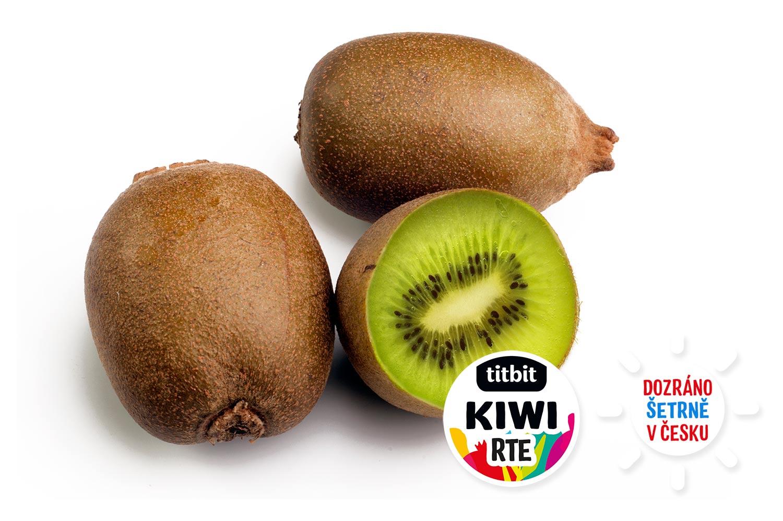 Kiwi zralé RTE Titbit