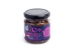 Ciburger Hot – cibulové chutney s chilli