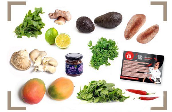 Chili Ta box zeleninová bedýnka s recepty