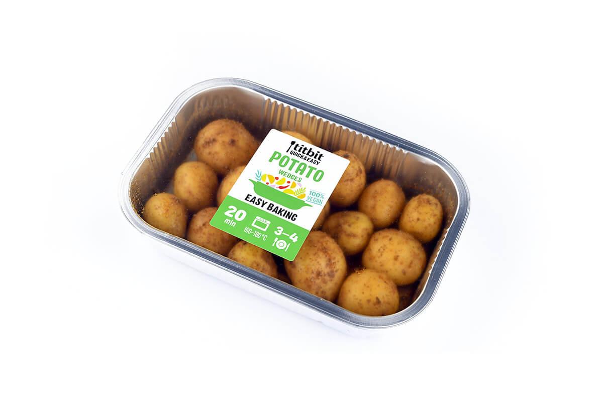 Titbit Quick&Easy Potato Wedges – brambory na pečení