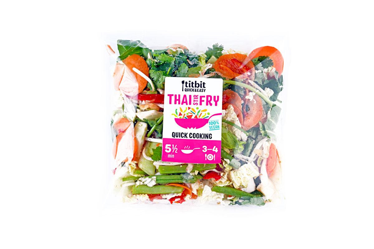 Titbit Quick&Easy Thai Stir Fry – zelenina na pánev