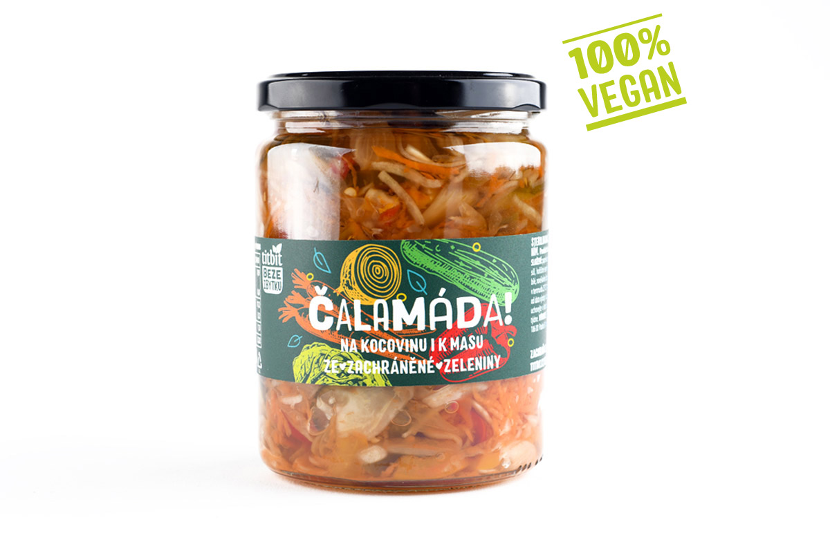 Čalamáda! Titbit beze zbytku vegan